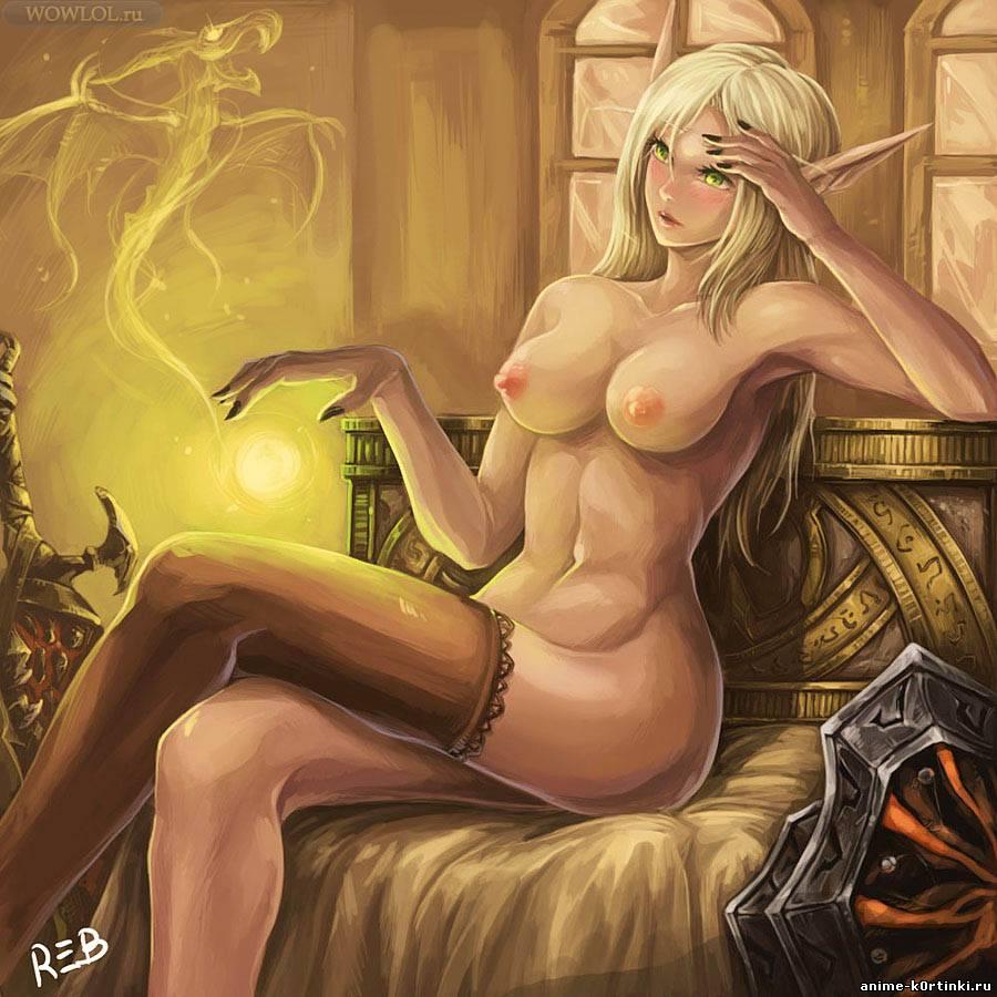 Ночная эльфийка секс